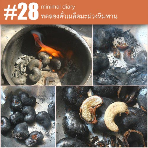 diary-0028-คั่วเมล็ดมะม่วงหิมพาน